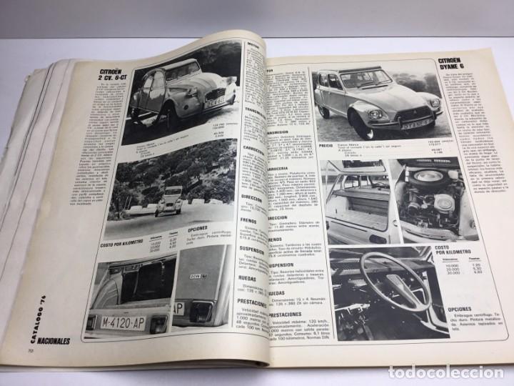 Coches: REVISTA CATÁLOGO VELOCIDAD ANUAL 76 - AÑOS 70 - AUTOMOCIÓN - Foto 7 - 182604452