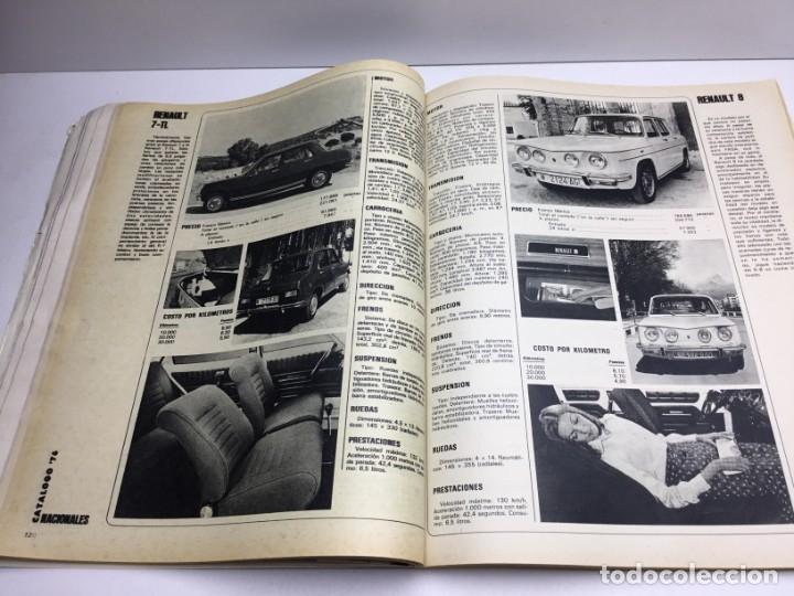 Coches: REVISTA CATÁLOGO VELOCIDAD ANUAL 76 - AÑOS 70 - AUTOMOCIÓN - Foto 8 - 182604452