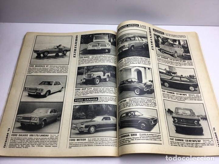 Coches: REVISTA CATÁLOGO VELOCIDAD ANUAL 76 - AÑOS 70 - AUTOMOCIÓN - Foto 9 - 182604452