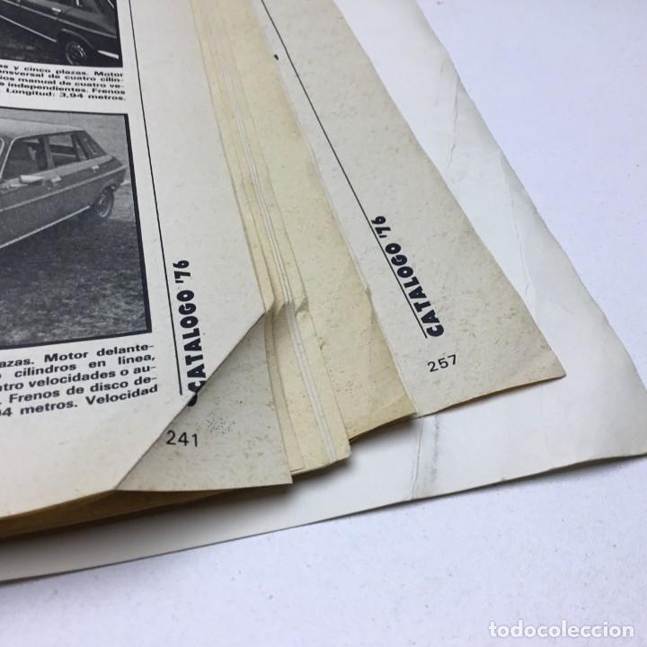 Coches: REVISTA CATÁLOGO VELOCIDAD ANUAL 76 - AÑOS 70 - AUTOMOCIÓN - Foto 11 - 182604452