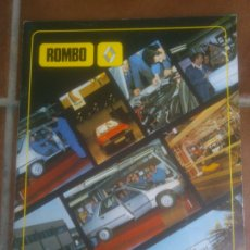 Coches: ROMBO FASA-RENAULT VALLADOLID. RENAULT-9 MUNDIAL ESPAÑA 82. Lote 182732963