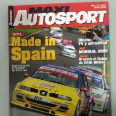 Coches: MAXI AUTOSPORT 15, CITROEN C4 VTS, SEAT CUPRA GT,BMW X5 T2, SEAT LEÓN CUPRA R, F1, DAKAR. Lote 183358537