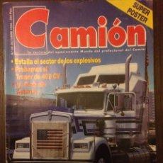 Coches: REVISTA CAMION NÚMERO 39 OCTUBRE 1992 PEGASO TRONER 400. Lote 183708487