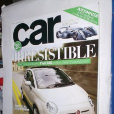 Coches: REVISTA CAR Nº5 AGOSTO 2007 FIAT 500,CAPARO ,PORSCHE 911 TURBO CABRIO,ASTON MARTIN ROADSTER,BMW Z4 M. Lote 184623651
