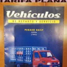 Coches: FASCICULO N 8 PEGASO DAILY CEPSA 1994 DE LA COLECCION DE VEHICULOS DE REPARTO Y SERVICIO DE SALVAT. Lote 187197676