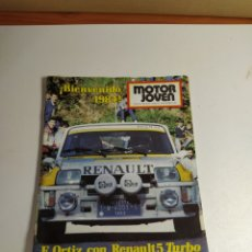 Coches: REVISTA MOTOR JOVEN NUM 47 INCLUYE POSTER. Lote 187425248