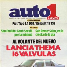 Voitures: AUTO 1 Nº 067 (24-10-88). Lote 187657158