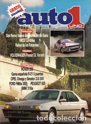 AUTO 1 Nº 088 (20-10-89) (Coches y Motocicletas Antiguas y Clásicas - Revistas de Coches)