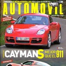 Coches: AUTOMOVIL Nº 334 (NOVIEMBRE 2005). Lote 187659296