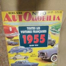 Coches: AUTOMOBILIA Nº 10 / 1955 / SALON 1954. Lote 189598060