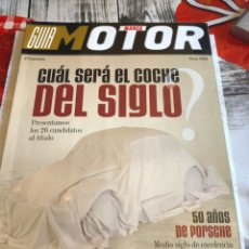 Coches: MARCA GUIA MOTOR, MAYO 1999. Lote 189639832