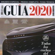 Voitures: CAR AND DRIVER GUIA 2020 N. 25 - TODOS LOS COCHES DEL MERCADO (NUEVA). Lote 190596123