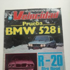 Coches: VELOCIDAD - 9 ENERO 1982 // REVISTA PRUEBA BMW 528I MASERATI BUGGY KANZLER RALLYE CATALUÑA 81 . Lote 191174427