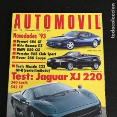 Coches: AUTOMOVIL Nº 178 - JAGUAR XJ 220 MAZDA 323 GTR FERRARI 456 GT NISSAN SKYLINE RACING RALLY FORMULA. Lote 191324767