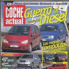 Carros: REVISTA COCHE ACTUAL Nº 639 AÑO 2000. PRUEBA: TOYOTA MR2. SKODA FABIA 1.9 TDI 101 CV. . Lote 191379121
