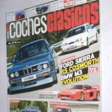 Coches: REVISTA COCHES CLASICOS Nº68 AÑO VI 2010 FORD SIERRA VS BMW M3,FERRARI TESTAROSA,MORGAN 4/4,BISCUTER. Lote 191812147