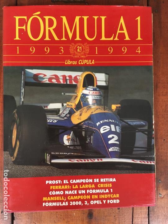 Coches: Varios artículos FÓRMULA 1. (2 libros, 4 revistas Grand Prix, 1 juego ordenador) - Foto 2 - 192175847