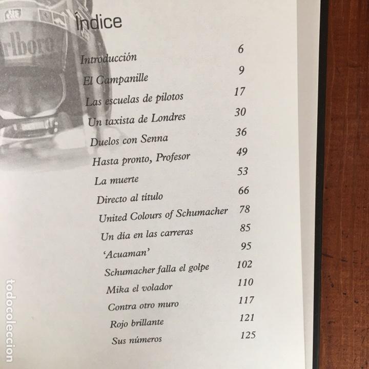 Coches: Varios artículos FÓRMULA 1. (2 libros, 4 revistas Grand Prix, 1 juego ordenador) - Foto 9 - 192175847