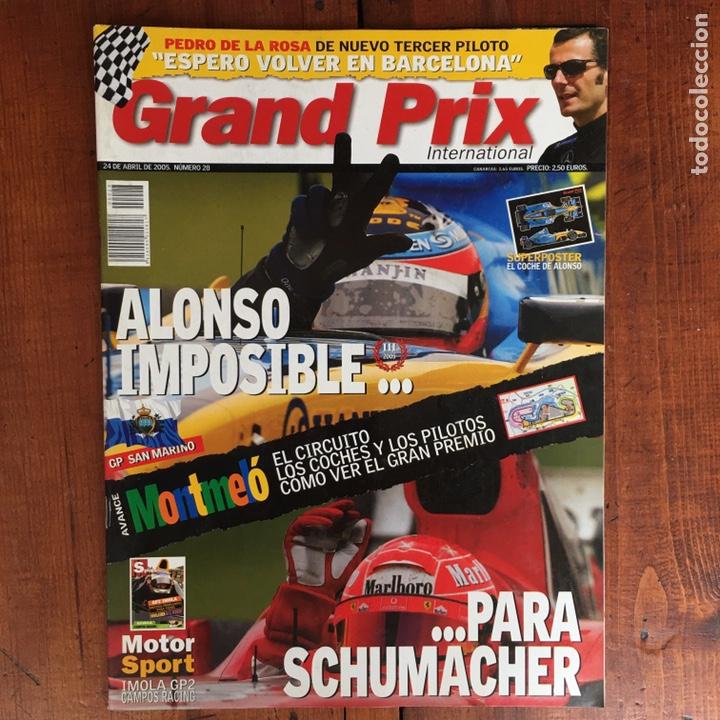 Coches: Varios artículos FÓRMULA 1. (2 libros, 4 revistas Grand Prix, 1 juego ordenador) - Foto 13 - 192175847