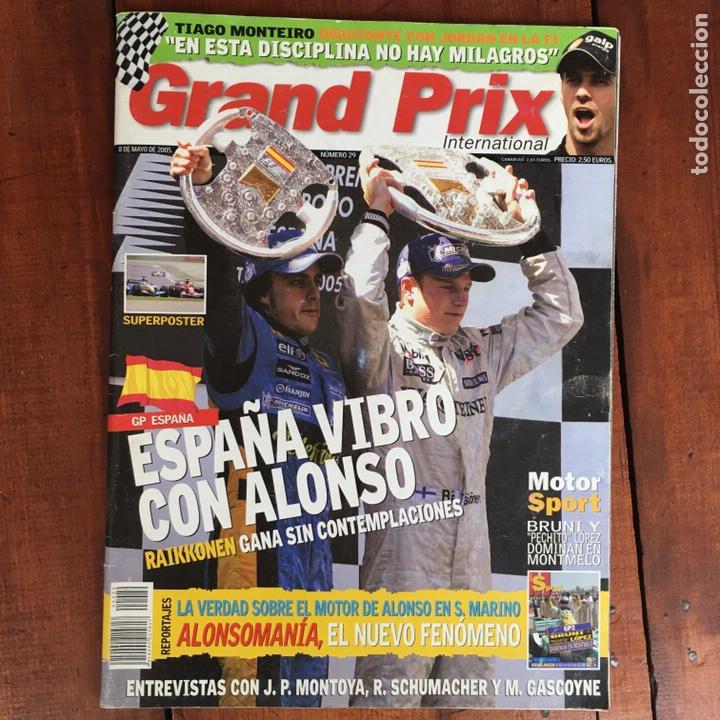 Coches: Varios artículos FÓRMULA 1. (2 libros, 4 revistas Grand Prix, 1 juego ordenador) - Foto 14 - 192175847