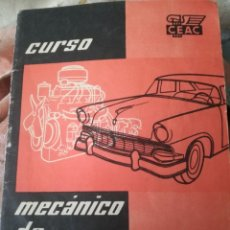 Coches: MECÁNICO DE AUTOMÓVILES.. Lote 192230095