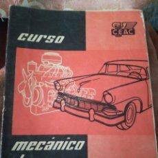 Coches: MECÁNICO DE AUTOMÓVILES.. Lote 192230286