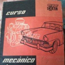 Coches: MECÁNICO DE AUTOMÓVILES.. Lote 192231283