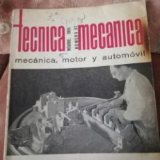 Coches: TÉCNICAS MECÁNICA.. Lote 192233298