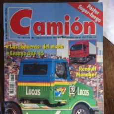 Coches: REVISTA CAMION N. 8 DE 1991 DAF RENAULT JARAMA. Lote 192246247