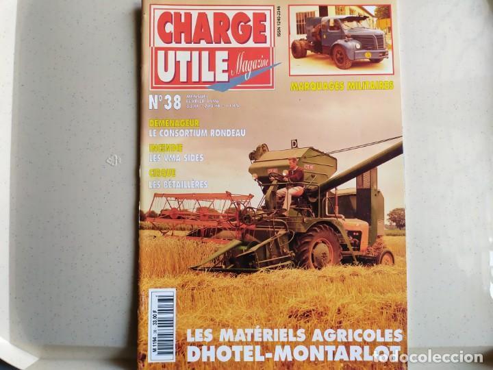 REVISTA CHARGE UTIL N°38 , FEBRERO 1996 (Coches y Motocicletas Antiguas y Clásicas - Revistas de Coches)