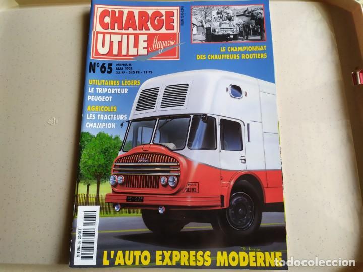 REVISTA CHARGE UTIL N°65 , MAYO 1998 (Coches y Motocicletas Antiguas y Clásicas - Revistas de Coches)