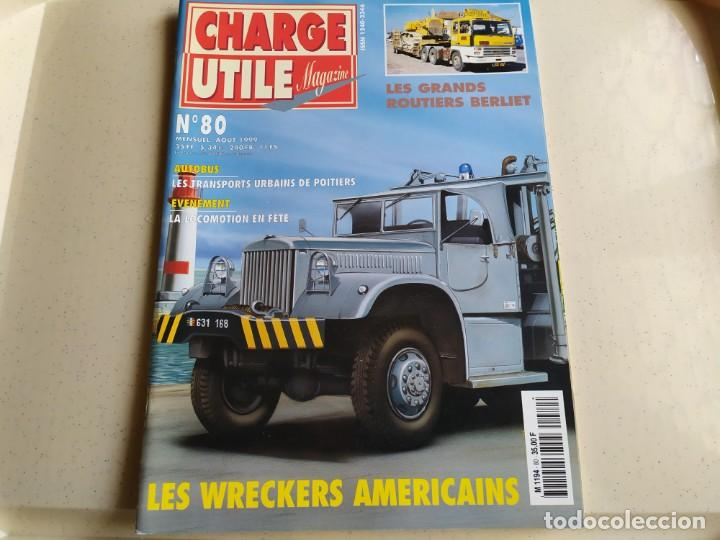 Coches: Revista CHARGE UTIL N°80 , Agosto 1999 - Foto 1 - 192454147
