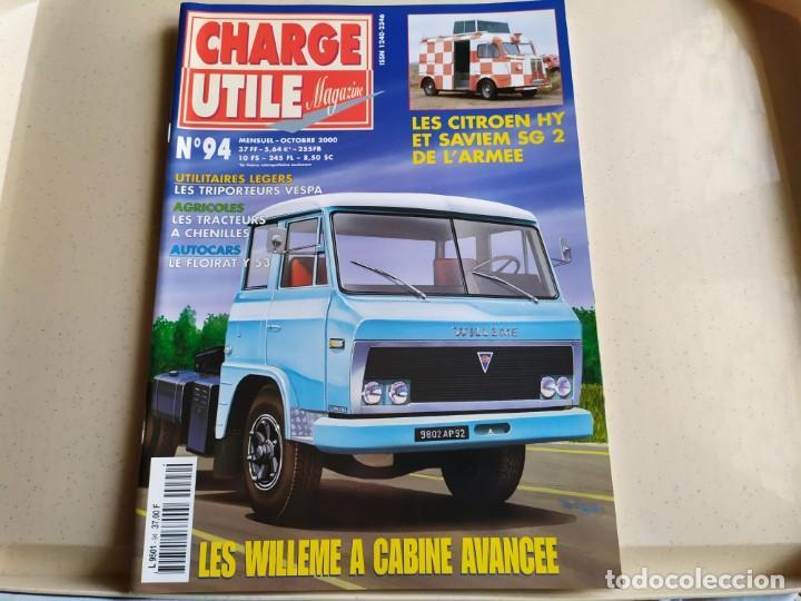 REVISTA CHARGE UTIL N°94 , OCTUBRE 2000 (Coches y Motocicletas Antiguas y Clásicas - Revistas de Coches)