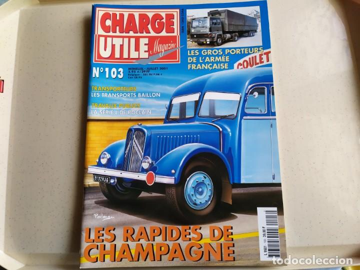 Coches: Revista CHARGE UTIL N°103 , Julio 2001 - Foto 1 - 192454557