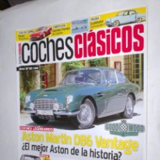Coches: REVISTA COCHES CLASICOS Nº93 AÑO VIII 2012 ALPINE A110 1,3,ASTON MARTIN DB6,RENAULT 5TURBO,Y 5 950 . Lote 192474226