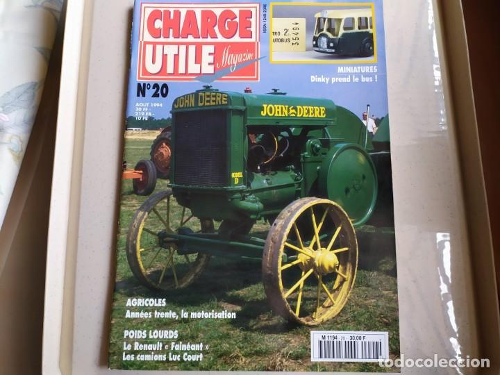 REVISTA CHARGE UTIL N°20 , AGOSTO 1994 (Coches y Motocicletas Antiguas y Clásicas - Revistas de Coches)