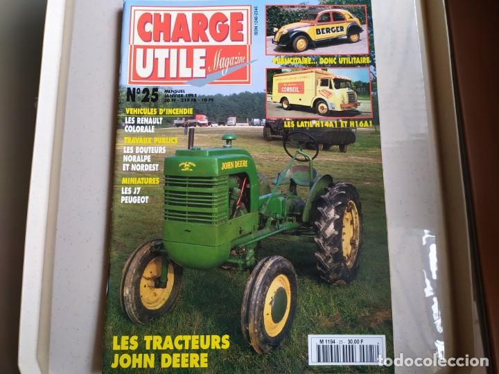REVISTA CHARGE UTIL N°25 , ENERO 1995 (Coches y Motocicletas Antiguas y Clásicas - Revistas de Coches)
