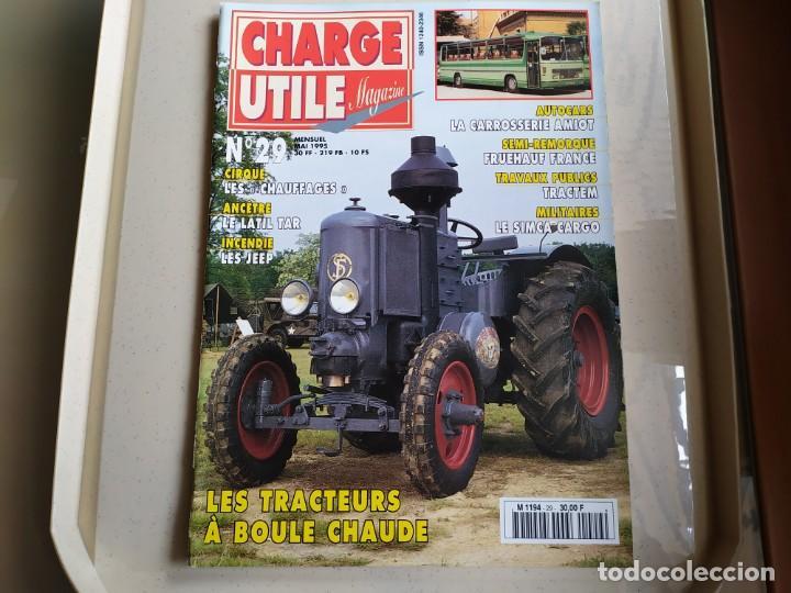 REVISTA CHARGE UTIL N°29 , MAYO 1995 (Coches y Motocicletas Antiguas y Clásicas - Revistas de Coches)
