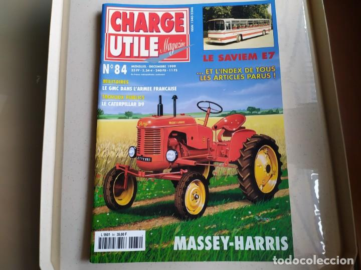 REVISTA CHARGE UTIL N°84 , DICIEMBRE 1999 (Coches y Motocicletas Antiguas y Clásicas - Revistas de Coches)