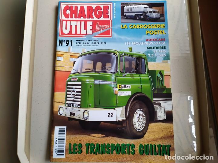 REVISTA CHARGE UTIL N°91 , JUNIO 2000 (Coches y Motocicletas Antiguas y Clásicas - Revistas de Coches)