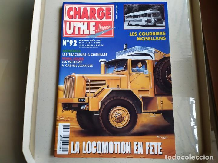 REVISTA CHARGE UTIL N°92 , AGOSTO 2000 (Coches y Motocicletas Antiguas y Clásicas - Revistas de Coches)