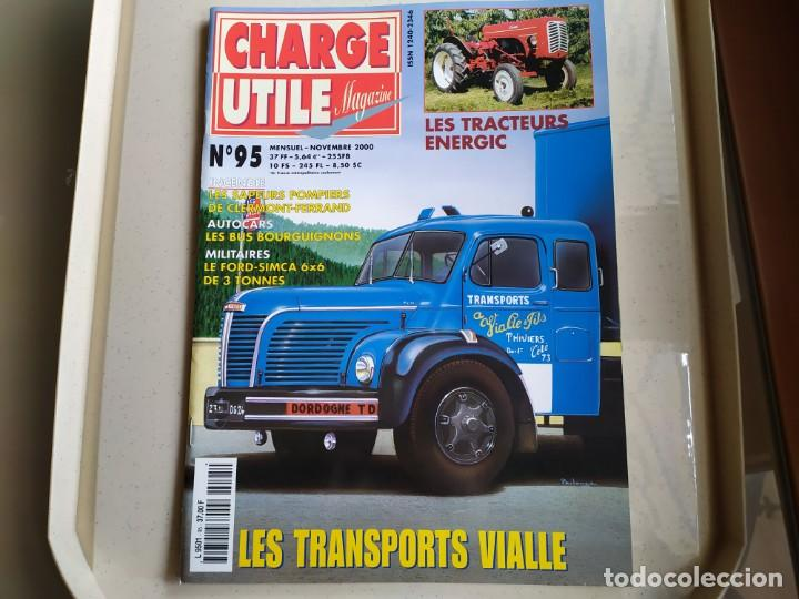 REVISTA CHARGE UTIL N°95 , NOVIEMBRE 2000 (Coches y Motocicletas Antiguas y Clásicas - Revistas de Coches)