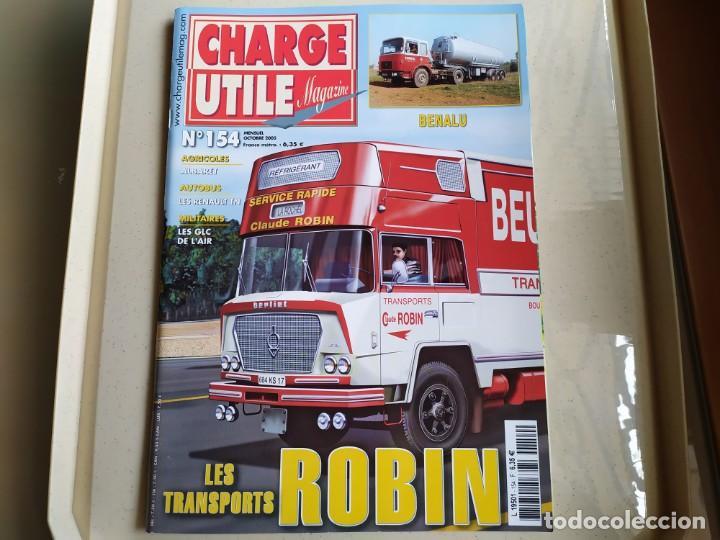REVISTA CHARGE UTIL N°154 , OCTUBRE 2005 (Coches y Motocicletas Antiguas y Clásicas - Revistas de Coches)