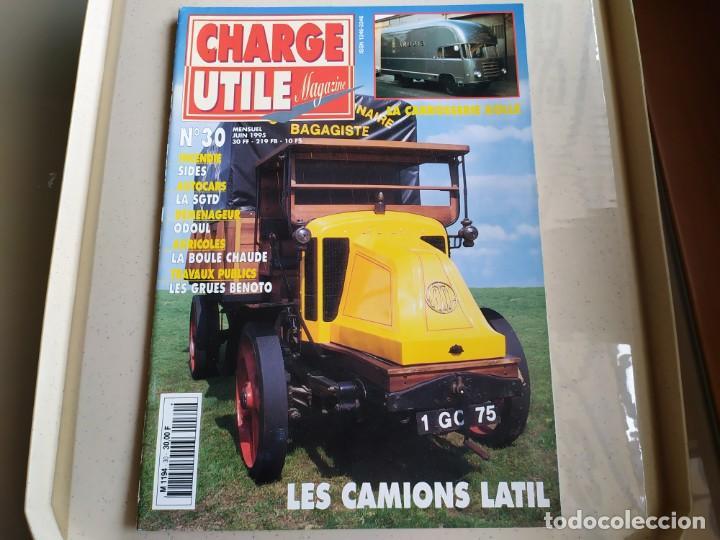 REVISTA CHARGE UTIL N°30 , JUNIO 1995 (Coches y Motocicletas Antiguas y Clásicas - Revistas de Coches)