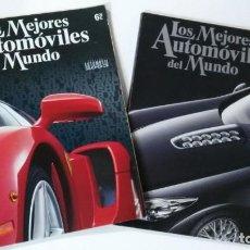 Coches: DOS REVISTAS , LOS MEJORES AUTOMÓVILES DEL MUNDO , 2003 Y 2005. Lote 192691653