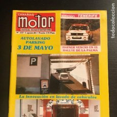 Voitures: CANARIAS MOTOR Nº 157 - MAZDA NISSAN FIAT UNO LANCIA EXPOMOTOR 85 RALLY LA PALMA LA LAGUNA . Lote 194154236