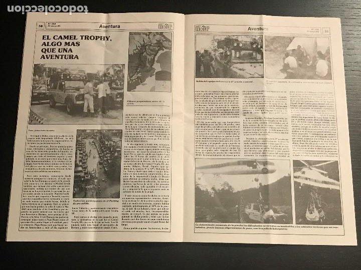 Coches: CANARIAS MOTOR Nº 154 - CAMEL TROPHY OPEL CORSA CITROEN CX GTI TURBO MOTOCICLISMO LOS LOROS - Foto 3 - 194154690
