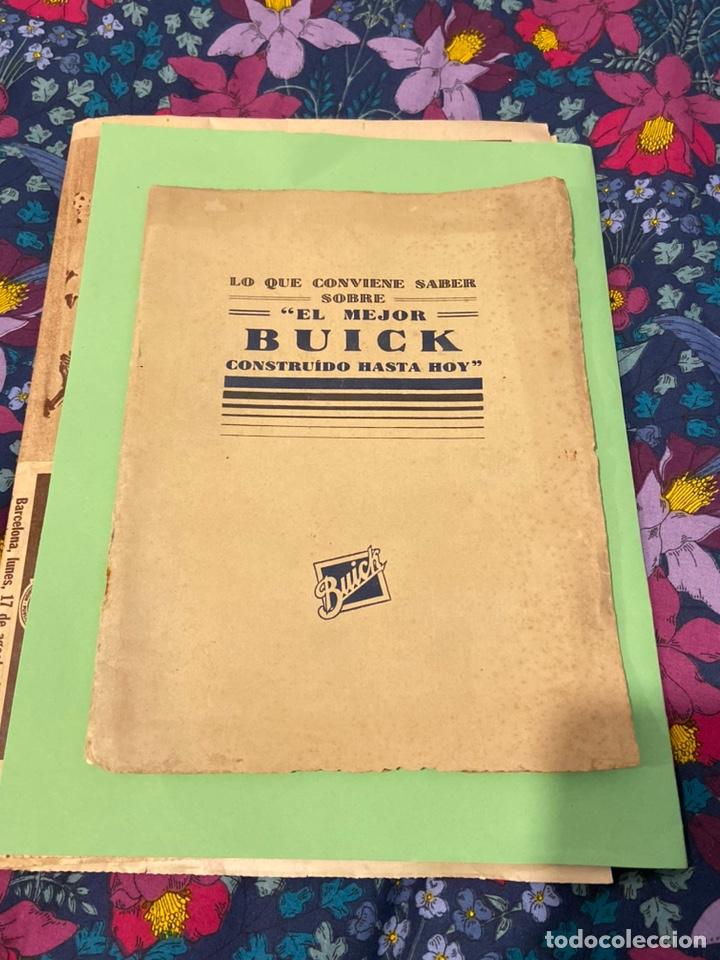 CATÁLOGO DE BUICK 1927 (Coches y Motocicletas Antiguas y Clásicas - Revistas de Coches)