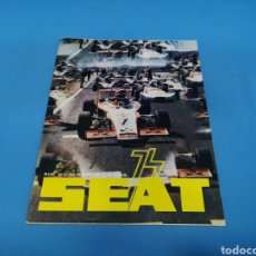 Coches: REVISTA SEAT NUM. 92 AÑO 1974. PÓSTER CENTRAL SEAT 124 D. Lote 194368280