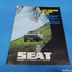 Coches: REVISTA SEAT NUM. 120 AÑO 1977. PÁGINAS INTERIORES SEAT 131. Lote 194382770